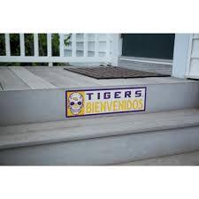 Applied Icon Ncaa Lsu Tigers Bienvenidos Step Graphic Ncsg2403 The Home Depot