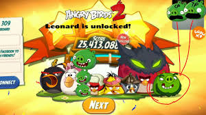 Angry Birds 2 Leonard is unlocked!(read description) - YouTube