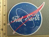 Usa Meatball Space Car Truck Window Vinyl Decal Fs2264 Nasa Logo Sticker Ushirika Coop