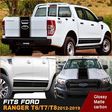 2020 Racing Side Door Panel Stripe Cool Graphic Vinyl Car Sticker Fit For Ford Ranger From Modified Club 52 92 Dhgate Com