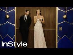 Ashley Madekwe and Iddo Goldberg   2020 Golden Globes Elevator ...