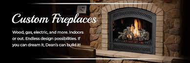dean s stove spa custom fireplaces