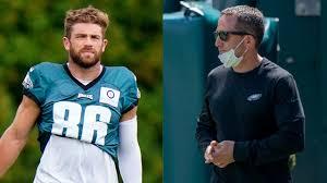 Zach Ertz, Howie Roseman got into heated argument after Eagles practice  this week
