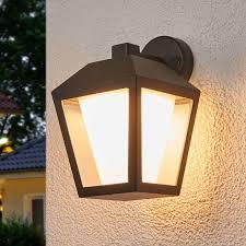 dark led outdoor wall light keralyn