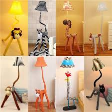 2020 New Animal Floor Lamp Cartoon Lamp Cloth New Arrive Led Standing Lamps Cute 220v Bedroom Floor Lamps From Feelyou 180 85 Dhgate Com