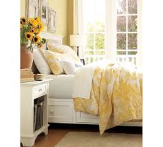 matine toile quilt shams pottery barn