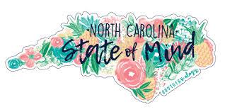 Southernology North Carolina State Of Mind Decal Shopsouthernology Com