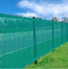 Amazon Com Two Heavy Duty Green 6 X 50 Privacy Screen Mesh Fence Windscreen Fabric Construction Residential Outdoor Garden Home Outdoor Decorative Fences Garden Outdoor