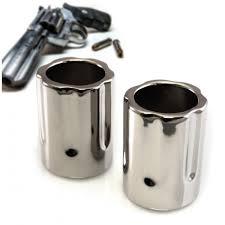 revolver shot glass set of 2
