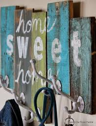 Picket Fence Crafts Beyond The Picket Fence Coat Rack Craft Ideas Pinterest Picket Fence Crafts Diy Fence Diy Inspiration