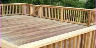 Deck Railing Height Requirements Deaton Builders Trinity Nearsay
