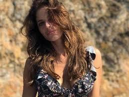 Weronika Rosati in a bikini