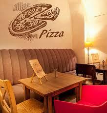 Pizza Decal Pizzeria Logo Vinyl Sticker Window Sign Cooking Etsy