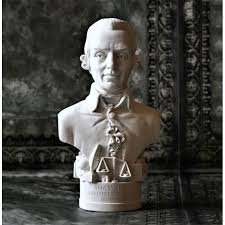 Adam Smith Bust - Small Bust in Fine Gypsum Plaster Height 13cm