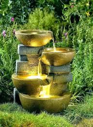garden fountain ideas backyard viara info