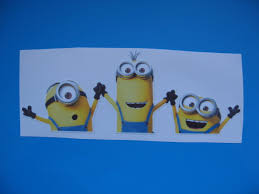 Despicable Minion Vinyl Decal Car Window Sticker For Sale Online Ebay