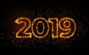 تحميل خلفيات 2019 بريق أرقام سنة جديدة سعيدة عام 2019 خلفية