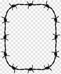 Barbed Wire Fence Concertina Clip Art Outdoor Structure Barbwire Transparent Png