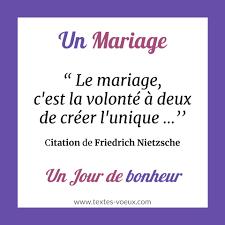 modèles textes carte mariage
