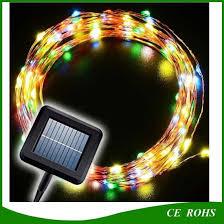 solar lamps led string lights