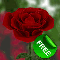 im 24 3d rose live wallpaper 200x200