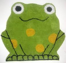 New Cute Green Frog Plush Rug Kid S Bathroom Bedroom Plush Rug Kids Bathroom Plush