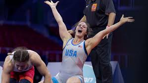Adeline Gray ties U.S. female record with fourth wrestling world title -  OlympicTalk | NBC Sports