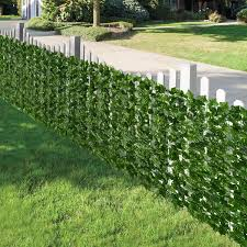 Shop Leaf Decorative Artificial Ivy Privacy Fence Screen 1 3m 952 Leaves Overstock 31648149