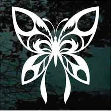 Custom Butterfly Car Decals Window Stickers Decal Junky