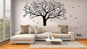 Amazon Com Mafent Giant Family Photo Tree Wall Decal Wall Sticker Vinyl Mural Art For Home Decor Room Decor Black Baby