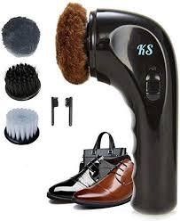shoe polisher handheld shoe shine kit