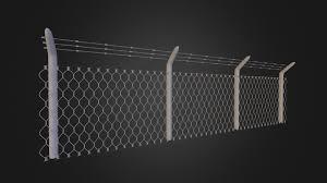 Barbed Wire Fence Download Free 3d Model By Xan San Xansan3dartist F3bf62b Sketchfab
