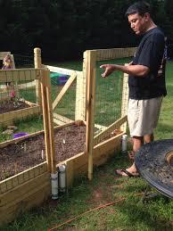 Pin By Tiffiny Co On Garden Garden Fencing Raised Garden Beds Diy Garden Fence