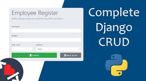 Complete Django CRUD Operations - YouTube