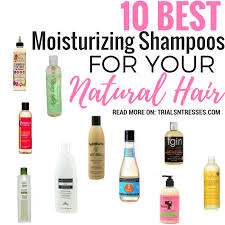 moisturizing shoos for natural hair