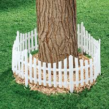 Fox Valley Traders Flexible Fence Edging Set Of 4