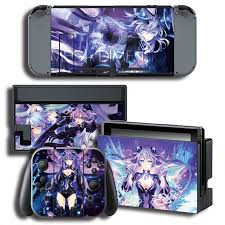 Ns Nx Accessories Vinyl Cover Decal Skin Protector Sticker For Nintendo Switch Console Skins For Neptunia Skin Sticker Consoleskins Co