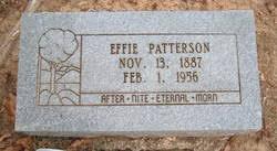 Effie Patterson (1887-1956) - Find A Grave Memorial