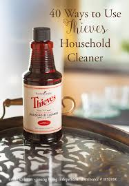 thieves cleaner essential oils
