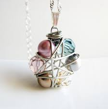 wire wrapped pendants tutorial for