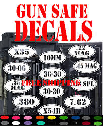 Ar 15 Vinyl Decal Sticker Car Window Wall Bumper Gun Ammo Assault Rifle 3