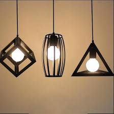 copper metal hanging light by lights