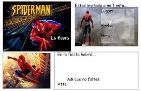 Invitaciones De Cumpleanos De Spiderman Tips E Ideas