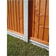 Forest Lightweight Concrete Fence Posts Pack Of 6 Homebase