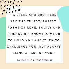 national siblings day quotes wishes brother sister images