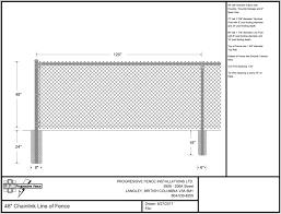 Shop Drawings Progressive Fence