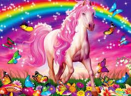 3141 unicorn wallpaper cute rainbow