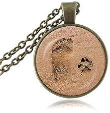 dog lover pendant dog paw necklaces paw