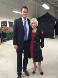 Diane Rehm - On the set of Younger, Diane met actor Peter... | Facebook