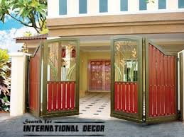 Interior Decoration Choice Of Gate Designs For Private House And Garage